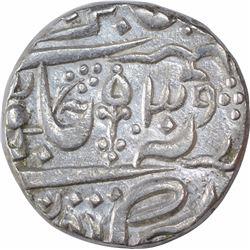 Silver One Rupee Coin of Vijaya Bahadur of Datia State.