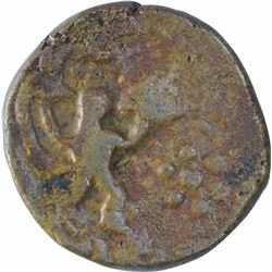 Copper One Paisa Coin of Daulat Rao of Rajod Mint of Gwailor State.