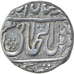 Silver One Rupee Coin of Daulat Rao of Gwalior State.