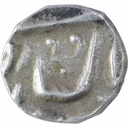 Silver One Eighth Rupee Coin of Ranjit Singh of Jaisalmir State.