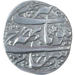 Silver One Rupee Coin of Gulab Singh of Srinagar Mint of Kashmir State.