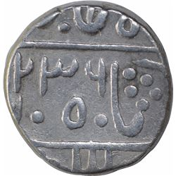Silver One Rupee Coin of Devgadh Mint of Pratapgarh State.