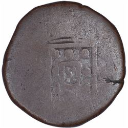 Copper Tanga Coin of Miguel of Goa of Indo Portuguese.