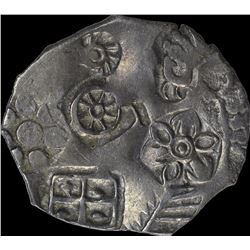 Extremely Rare Punch Marked Silver Karshapana Coin of Maghada Janpada.