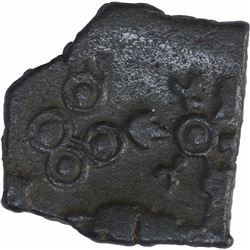Copper Coin of Satkarni I of Paunar Region of Satavahana Dynasty.