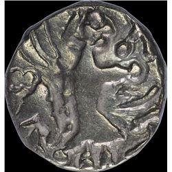 Rare Debase Gold Dinar Coin of Vigrahadeva of Kidarites of Kashmir.