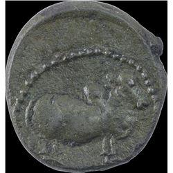 Copper Coin of Pallavas of Kanchi.