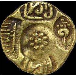 Rare Gold Padma Tanka Coin of Singhana Deva of Yadavas of Devagiri.