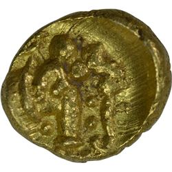 Gold Gajapati Fanam Coin of Western Gangas.