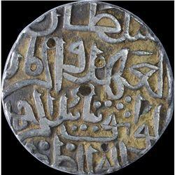 Silver One Tanka Coin of Taj Ud Din Firuz Shah of Hadrat Ahsanabad Mint of Bahamani Sultanate.