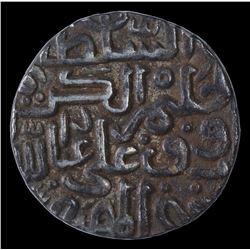 Silver Tanka Coin of Ala Al Din Ahmad Shah II of Muhammadabad Mint of Bahmani Sultanate.