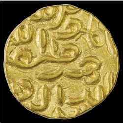 Rare Gold Tanka Coin of Nasir Ud Din Mahmud of Bengal Sultanate.