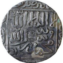 Silver One Rupee Coin of Daud Shah Kararani of Tanda Mint of Bengal sultanate.