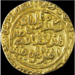 Gold Tanka Coin of Ala Ud Din Muhammad Khilji of Dar ul Islam Mint of Delhi Sultanate.