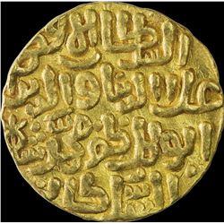 Gold Tanka Coin of Ala Ud Din Muhammad of Hadrat Delhi Mint of Delhi Sultanate.
