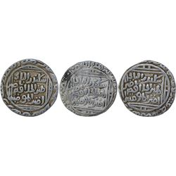Silver Tanka Coins of Ala Ud Din Muhammad Khilji of Hadrat Delhi Mint of Delhi Sultanate.