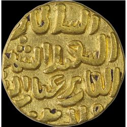 Rare Gold Tanka Coin of Muhamamd Bin Tughluq of Balda Qutbabad Mint of Delhi Sultanate.