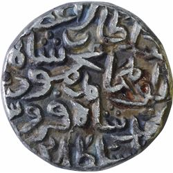 Silver Tanka Coin of Mahmud Bin Muhammad of Delhi Sultanate.