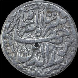 Silver One Rupee Coin of Jahangir of Lahore Mint of Di Month.