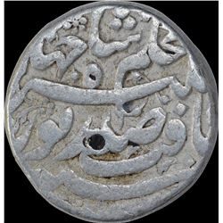 Rare Silver One Rupee Coin of Nurjahan of Patna Mint.