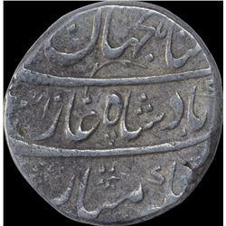 Silver One Rupee Coin of Shahjahan II of Shahjahanabad Dar Ul Khilafat Mint.