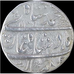 Silver One Rupee Coin of Muhammad Shah of Machhalipattan Mint.