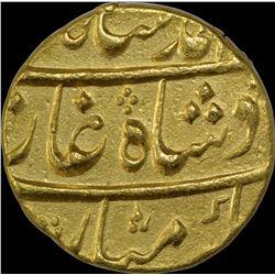 Gold Mohur Coin of Muhammad Shah of Burhanpur Dar Us Surur Mint.