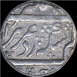 Silver One Rupee Coin of Alamgir II of Imtiyazgarh MInt.