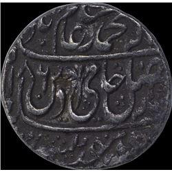 Silver One Rupee Coin of Shah Alam II of Shahjahanabad Dar ul Khilafa Mint.