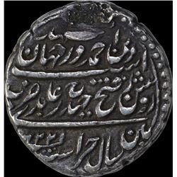 Rare Silver Half Rupee Coin of Tipu Sultan of Patan Mint of Mysore Kingdom.