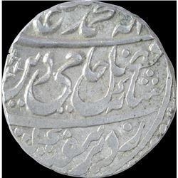 Silver One Rupee Coin of Muhammadnagar Tanda Mint of Awadh State.