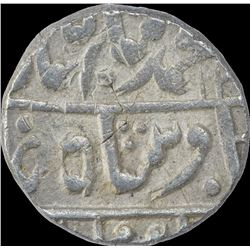 Silver One Rupee Coin of Jhalawar.
