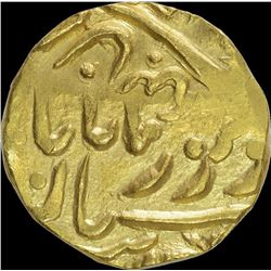 Gold Mohur Coin of Jaswant Singh of Jodhpur State.