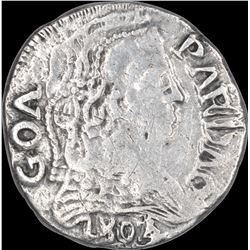 Silver Pardao Coin of Maria I of Goa of Indo Portuguese.