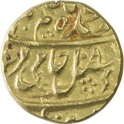 Gold Mohur Coin of Azimabad Mint of Bengal Presidency.