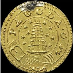 Gold Pagoda Coin of Madras Presidency.