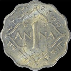 Cupro Nickel One Anna Coin of King George VI of 1938