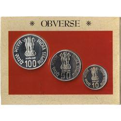 UNC Set of Sardar Vallabhabhai Patel of Mumbai Mint of the year 1996.