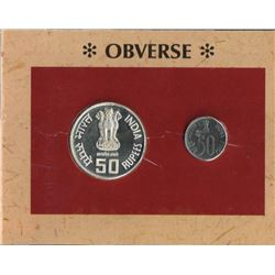 UNC Set of 50th Anniversary of Independence of the year 1997.