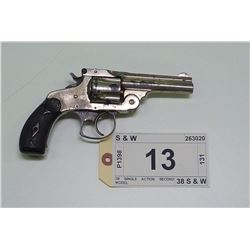 SMITH & WESSON , MODEL: TOP BREAK 38 NO 2 DOUBLE ACTION MODEL 3 , CALIBER: 38 S&W