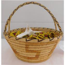 Papago Basket & Artifact Lot