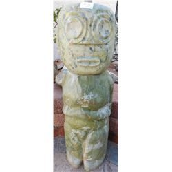 Large Chinese Jade Figure