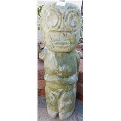 Large Chinese Jade Figure