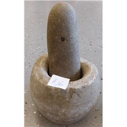 Ancient Chinese Mortar & Pestle