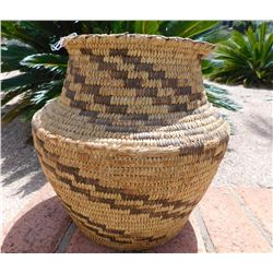 Papago Grain Storage Basketry Olla