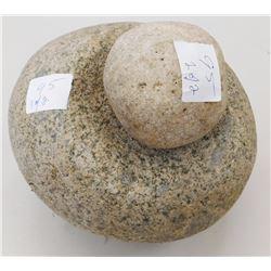 Chumash Mortar & Pestle