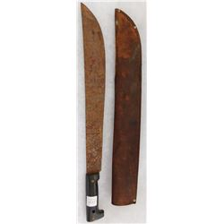 Older Machete & Sheath