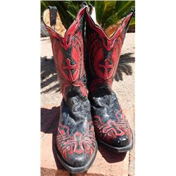 Pair of Fancy Cowboy Boots