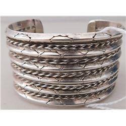 Sterling Navajo Bracelet