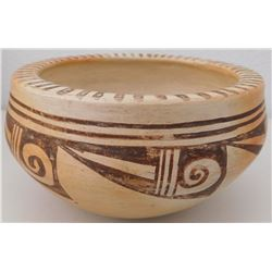 Smaller Polychrome Hopi Bowl by Corn Flower